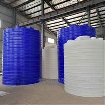 30吨塑料水箱PE水箱厂家 出料法兰一次成型