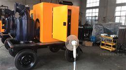 QZZSL强自吸双吸式柴油机水泵(带真空辅助装置)