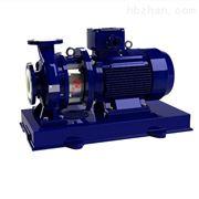 IHF型卧式衬氟化工离心泵