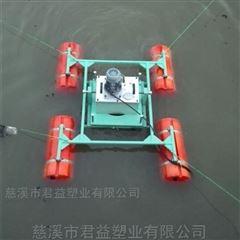 塑料浮桶 鱼塘增氧泵浮桶,水上设备浮筒