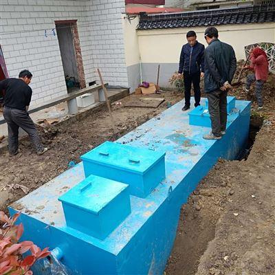 RC每天50吨小区生活污水处理设备电费多少