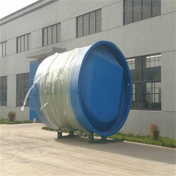 福建厦门一体化玻璃钢泵站销售