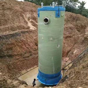 玻璃钢一体化泵站污水处理提升泵站