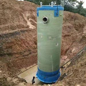 一体化污水处理提升泵站埋地预制泵站