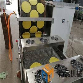 SP-500新款电磁加热蛋皮机烤鸭饼机