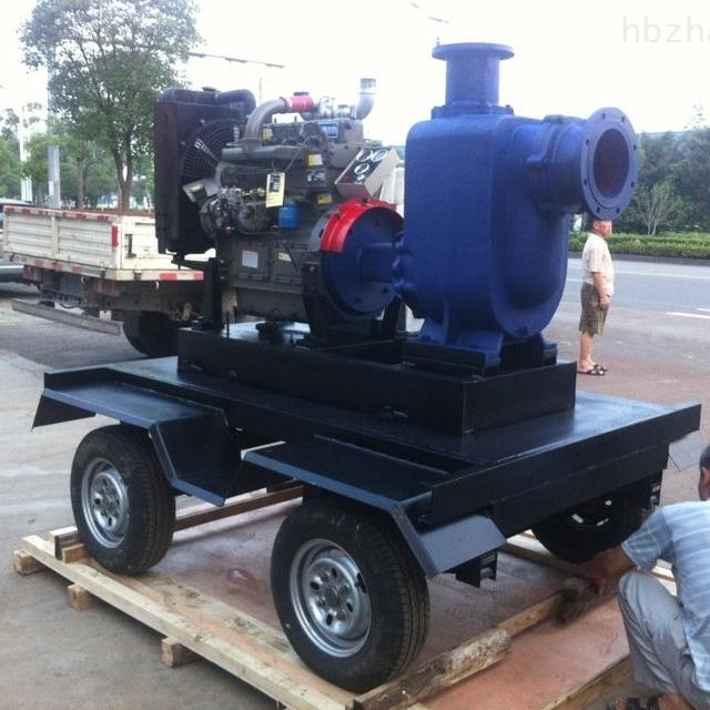 移動式防汛自吸泵車