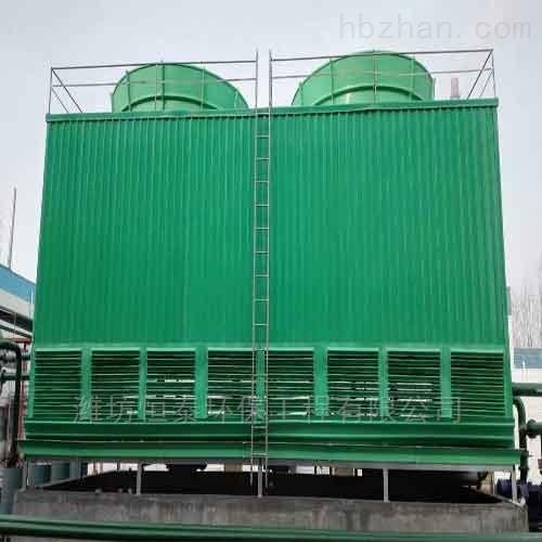 方型横流式冷却塔的结构