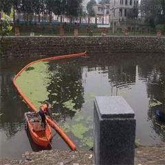 江面青苔海藻拦截浮漂筒