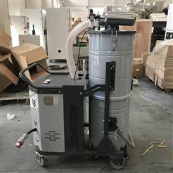 SH7500/7.5KW石墨厂大功率吸尘器用于吸深井内碳素粉末