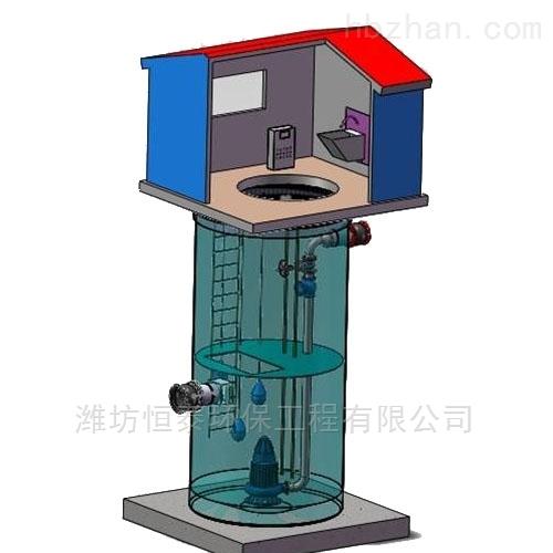 岳阳市污水提升泵站的结构组成