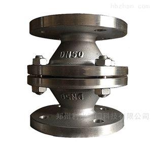 GYW-1阻爆燃型管道阻火器
