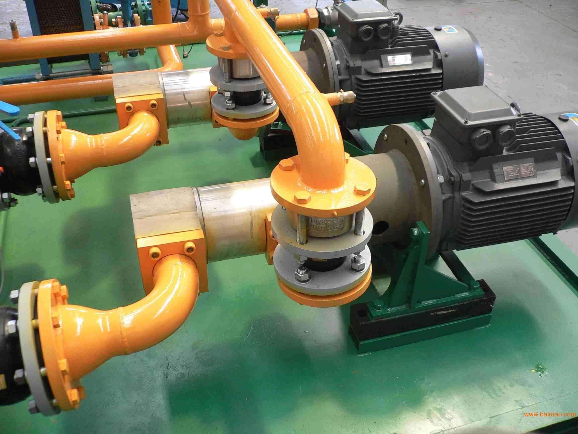 国内目前使用规模较多的两种外形结构的三螺杆泵