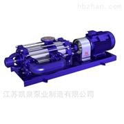自平衡多级泵选型