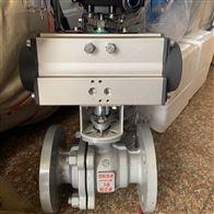 Q641F气动铸钢蒸汽球阀