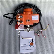 Q915FIP68浸泡潜水型电动内螺纹T型三通球阀