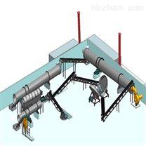 小型日产3万吨有机无机复混肥生产线工艺