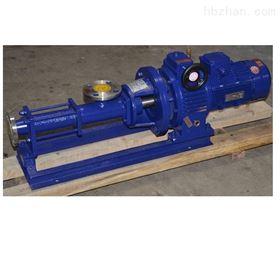 不锈钢无级调速螺杆泵