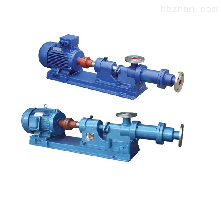 I-1B濃漿螺杆泵