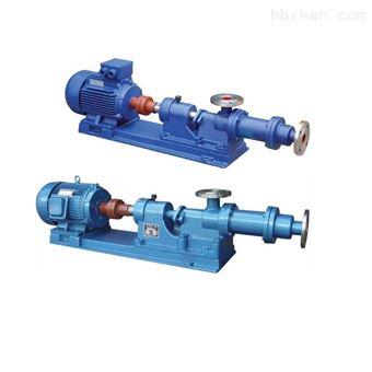 I-1B不銹鋼濃漿泵