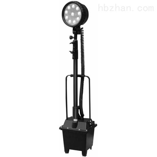 底部带滑轮便携式移动防爆升降灯