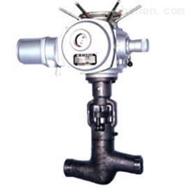 J961Y-320高温高压焊接式电动截止阀