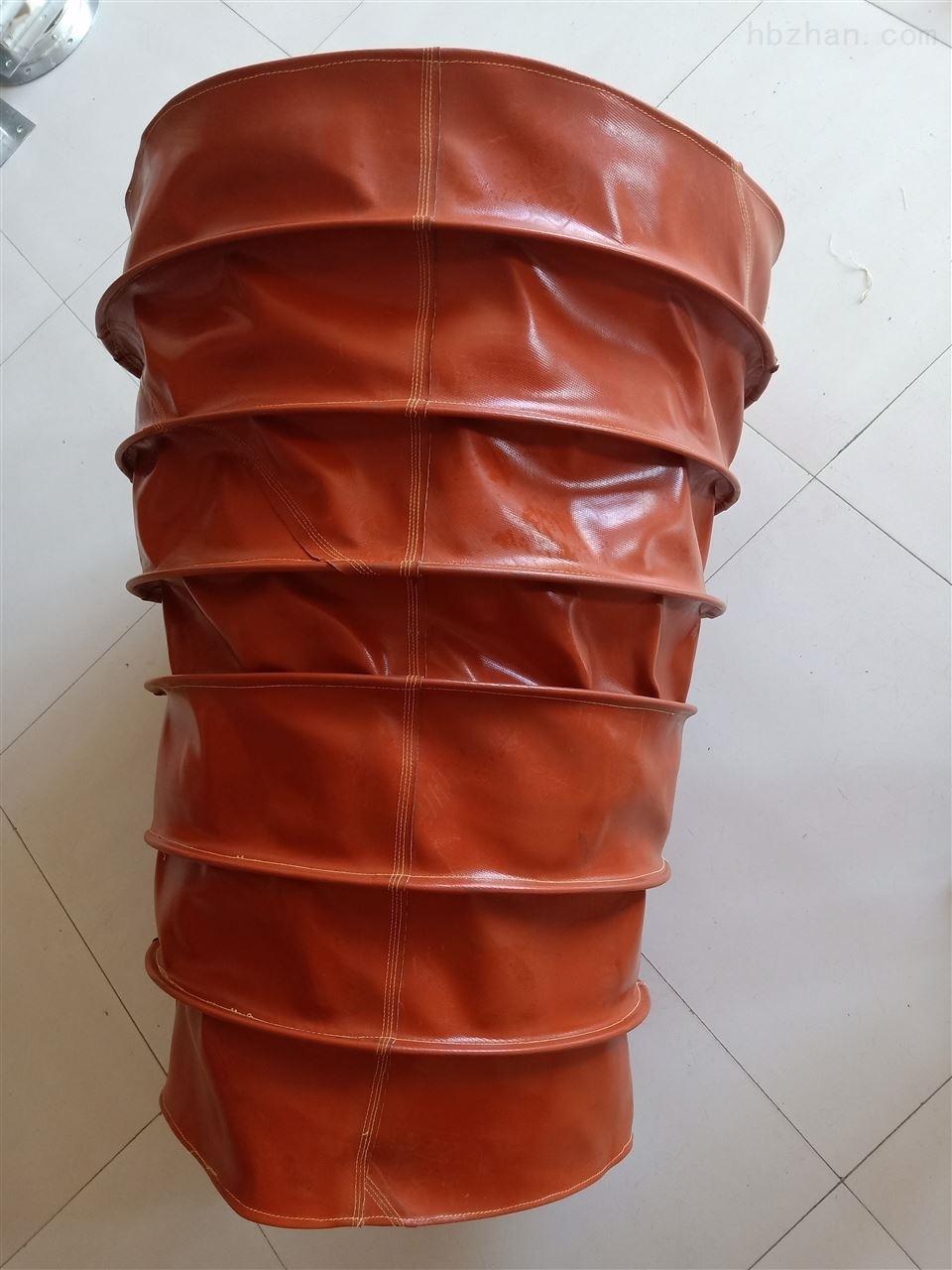 耐磨圆形风琴防护罩防水防油