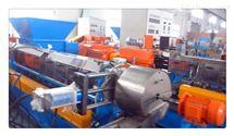 PVC电缆料回收造粒机