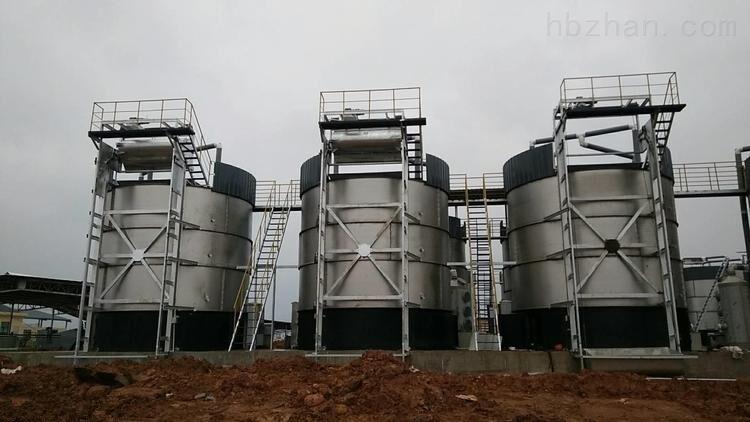 粪便加工有机肥高温好氧发酵罐运行现场