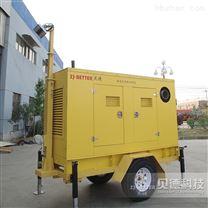 柴油機移動泵車