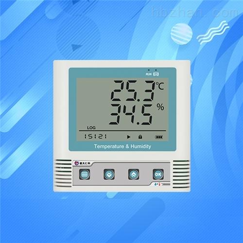 温湿度自动记录仪高精度工业阴凉柜温度计