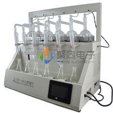 宁波全自动智能蒸馏仪JTZL-6Y液晶触摸屏