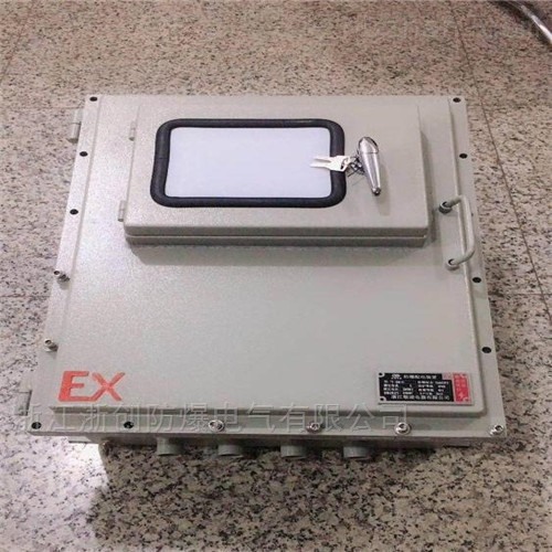 度钢板焊接防爆接线箱