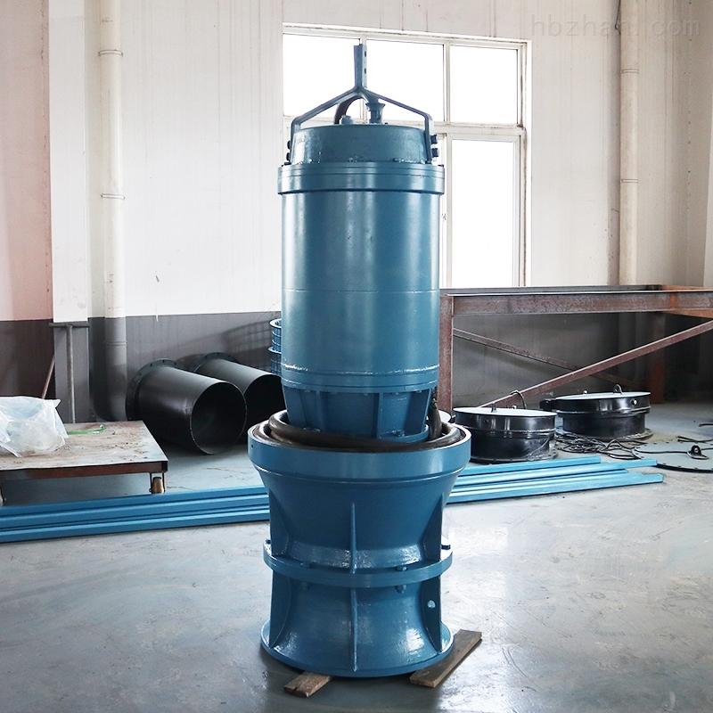 大功率下吸井筒式潜水轴流泵