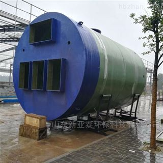 XYTBZ-250道路积水一体化提升泵站