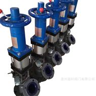 HG58-88-5气动手轮搪瓷放料阀