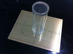 光野射野一致性检测板
