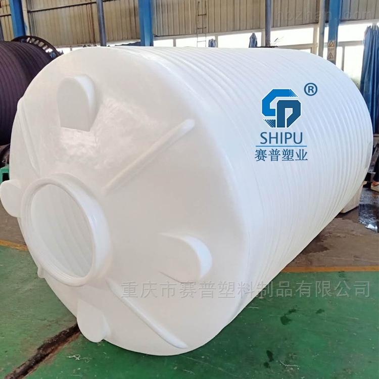 圆形储罐 8吨塑料水箱 农场PE储罐生产厂家