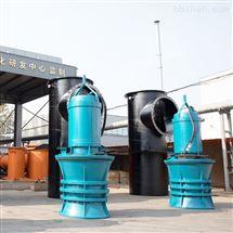 井筒式轴流泵