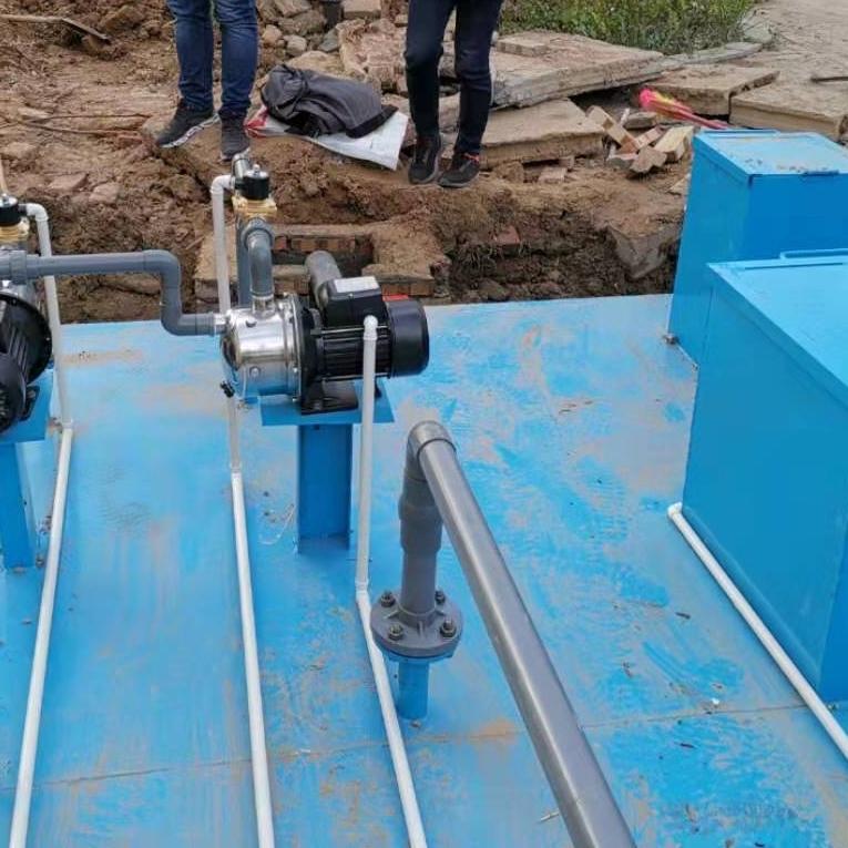 日处理量100吨的医院污水一体化处理设备