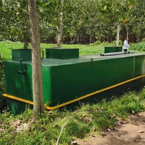 好氧生化工艺一体化生活污水处理设备