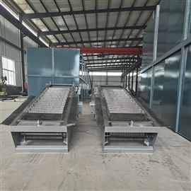 专业定制不锈钢机械格栅操作流程