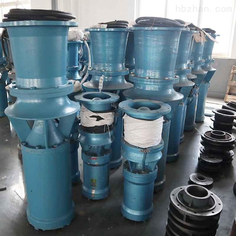 铸铁材质500QSZ-55型号简易型潜水轴流泵