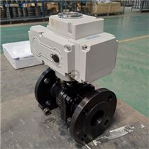 Q941H-16C DN80高温硬密封电动球阀