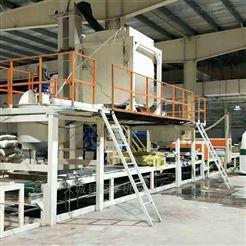 全自动机制双面砂浆复合岩棉板生产设备