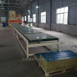 机制外墙砂浆岩棉复合板生产设备