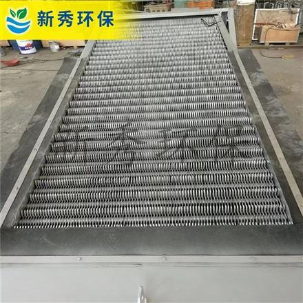网板格栅图纸 阶梯式网板 格栅除污机