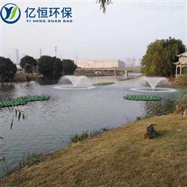 河道治理-太阳能喷泉曝气机