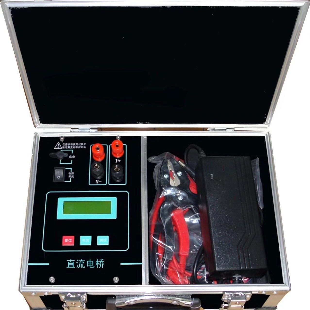 高效率触摸屏变压器直流电阻测试仪