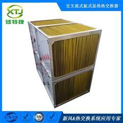 印刷涂布纺织设备节能改造板式热交换芯体