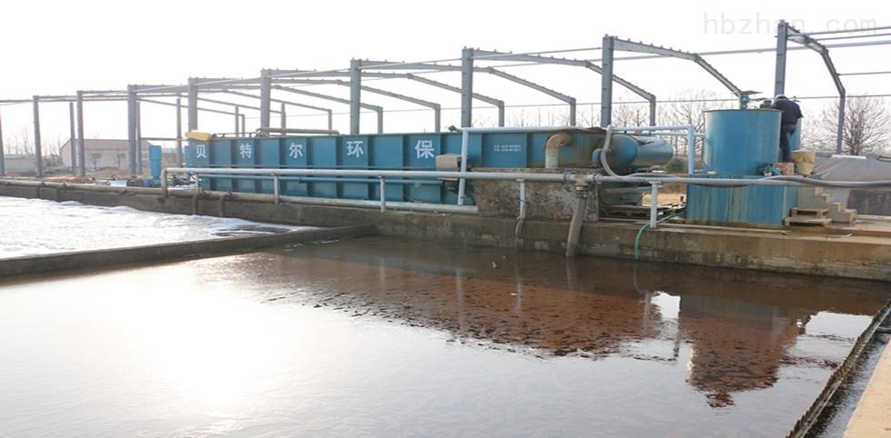 日处理200立方塑料颗粒清洗废水气浮机运行现场